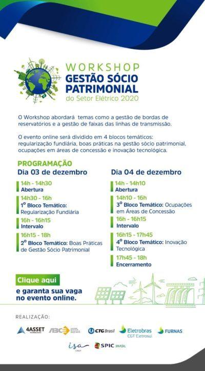 Workshop Gestão Sócio Patrimonial do Setor Elétrico
